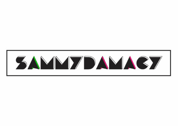 bold, fun Sammy Damacy branding by effi summers creative
